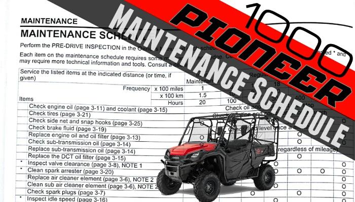 p1000 honda pioneer 1000 maintenance schedule the honda side by rh hondasxs com honda pioneer 700 service manual 2014 honda pioneer 700 service manual