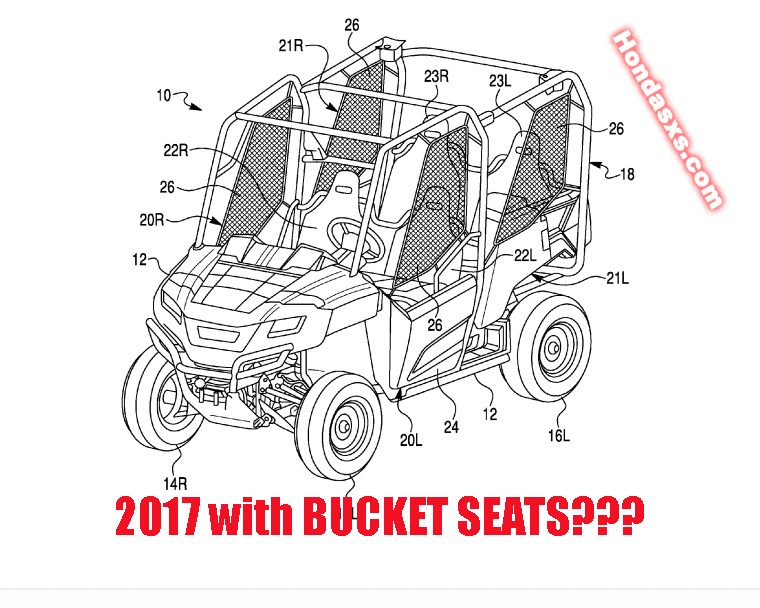 2018 honda side by side.  Side 2017bucket1png Throughout 2018 Honda Side By