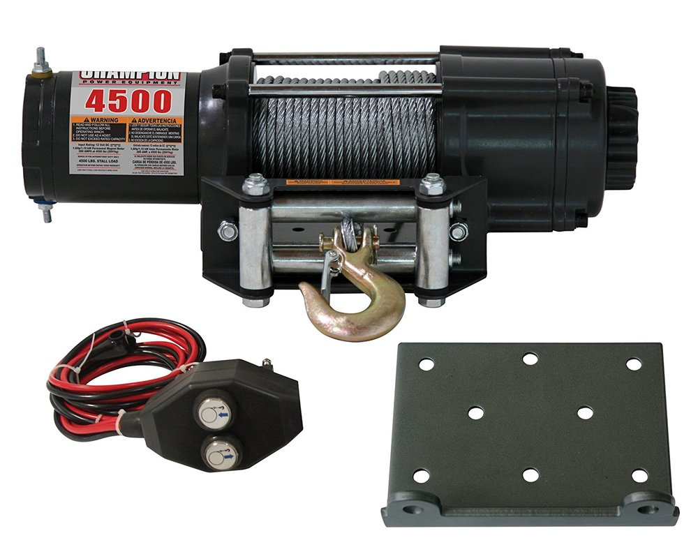 KFI has winch mounting plates! | The Honda Side by Side Club!