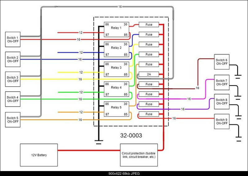 p1000 electrical help page 11 the honda side by side club! bussmann fuse block wiring diagram at bakdesigns.co