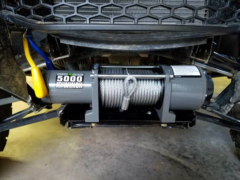 P1000 - Harbor freight badlands winch | Page 2 | The Honda