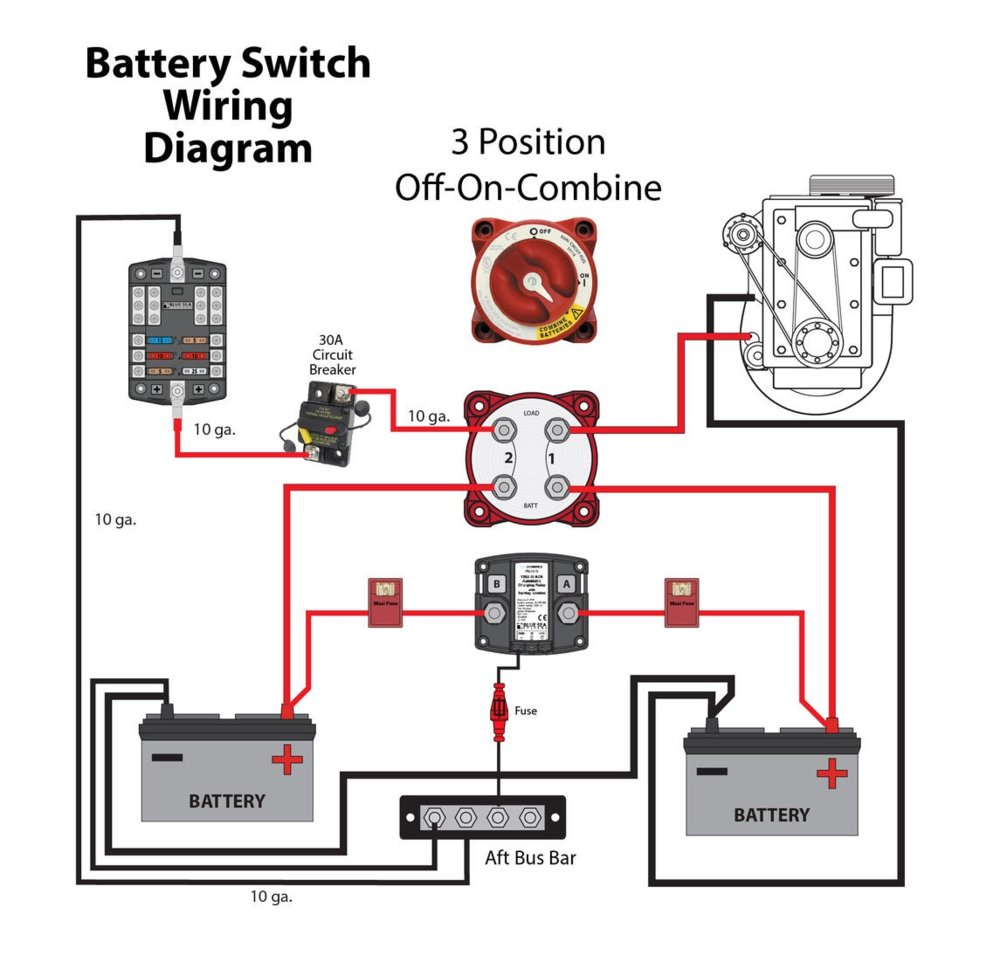 Dual Battery Solenoid Wiring Diagram As Well Dual Battery Isolator