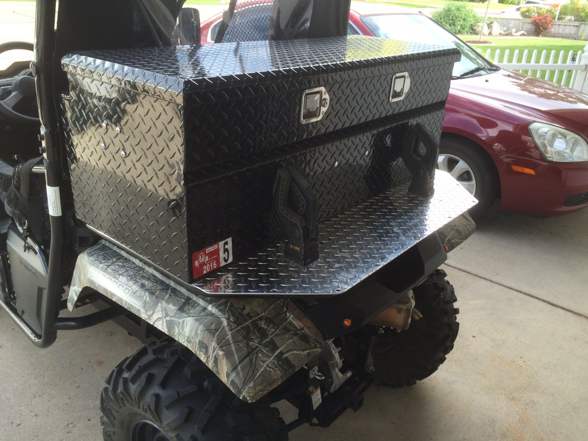 Looking for a cargo box | Page 2 | The Honda Side by Side Club!