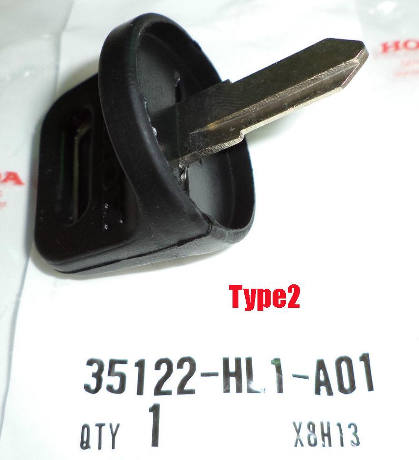 HONDA 35122-HL1-A01 KEY BLANK TYPE2