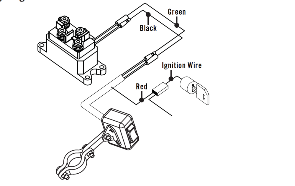 Winch Rocker Switch Wiring The Honda Side By Side Club