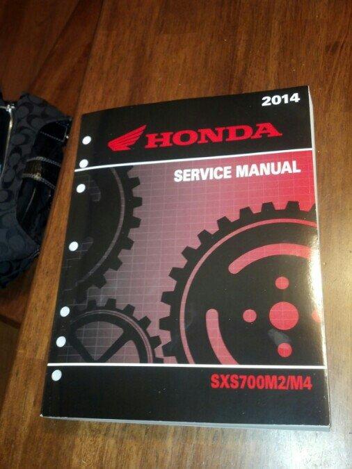 shop service manual the honda side by side club rh hondasxs com Honda Pioneer Dimensions 2014 Honda Pioneer 700