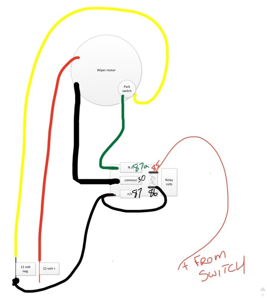 p1000m5 wind shield wiper wiring the honda side by side club rh hondasxs com 12 Volt Solenoid Wiring Diagram 12 Volt Horn Relay Wiring Diagram